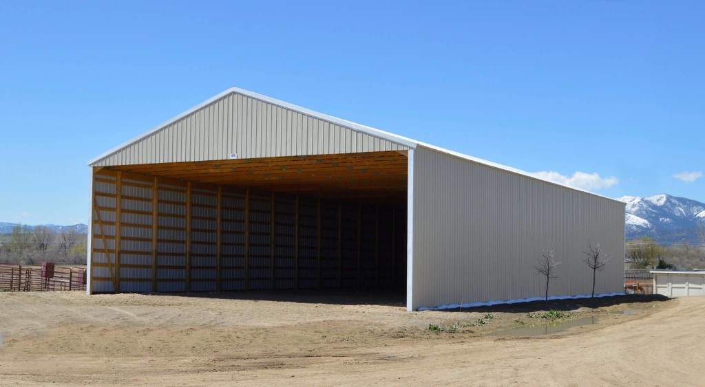 Uncategorized colorado horse rescue for Hay shed plans